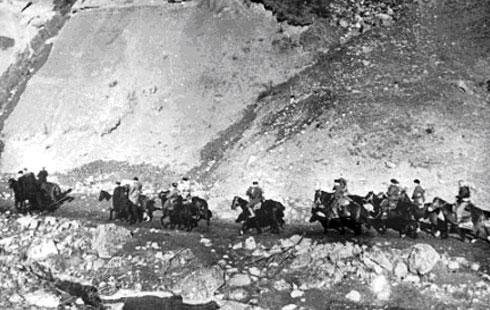 Отряд партизан Северной Осетии