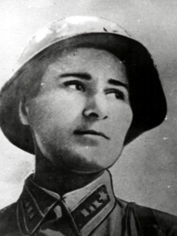Участница Битвы за Берлин Вера Салбиева